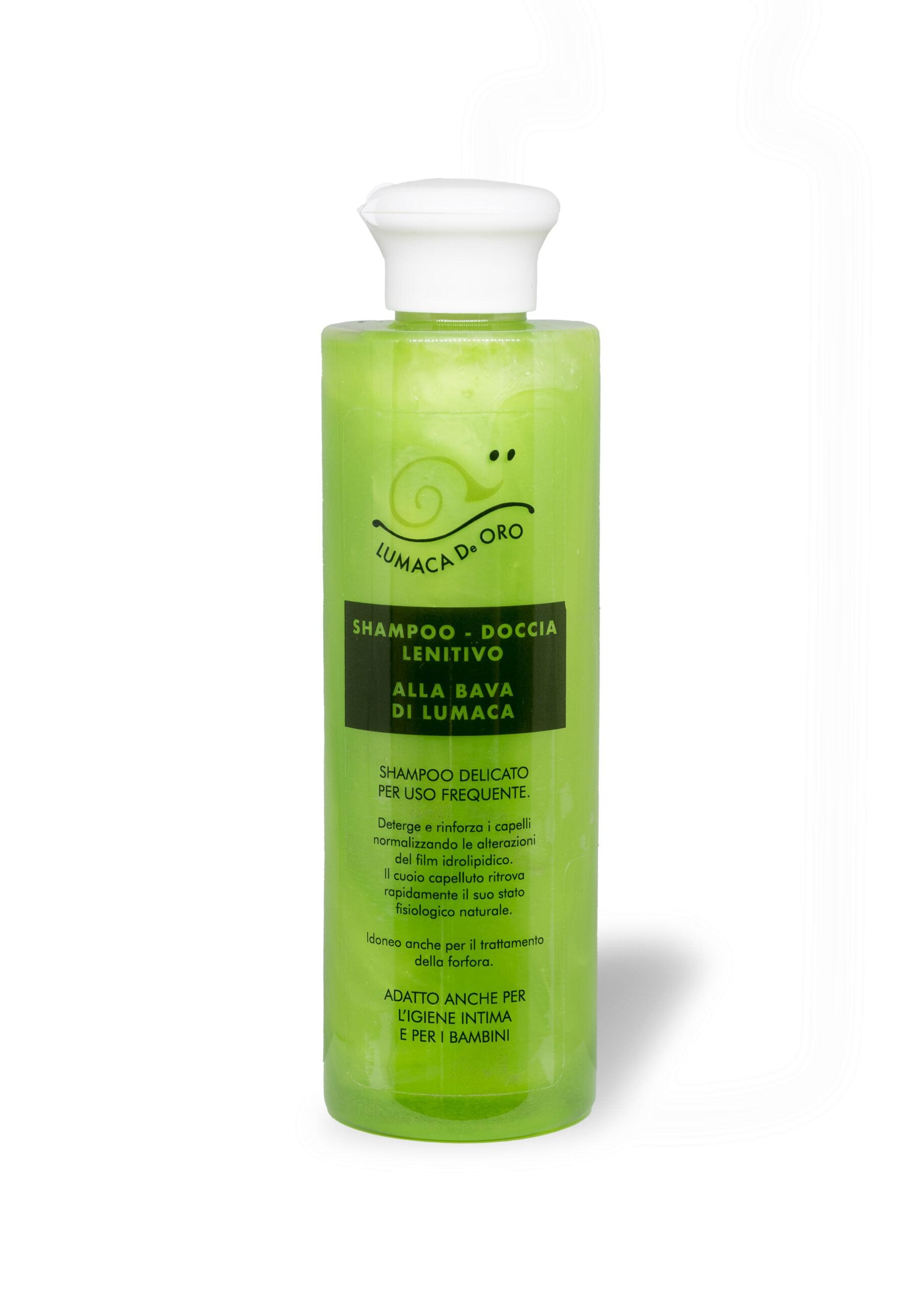 shampoo bava di lumaca